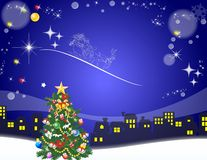 Santa Claus is coming, Royalty Free Stock Images