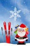 Santa Claus con i regali Fotografia Stock Libera da Diritti