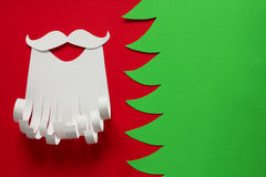 Santa Claus conceptual background Stock Image
