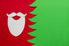 Santa Claus conceptual background Stock Image