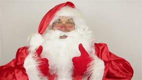 Santa Claus contenta metrajes