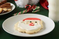 Santa Claus cookie Royalty Free Stock Photos