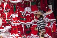 Santa Claus costumes Stock Image