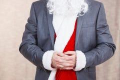 Santa Claus costume Stock Images