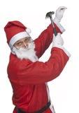 Santa claus craftman Stock Image