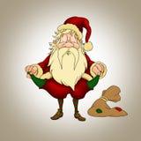 Santa Claus crisis Royalty Free Stock Photography