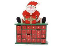 Santa Claus Cupboard Royalty Free Stock Image