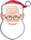 Santa Claus Cute Face Photos stock