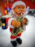 Santa Claus. Cute santa spreading happyness Stock Photos