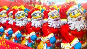 Santa Claus czekolada Fotografia Royalty Free
