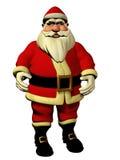 Santa Claus 3d illustration vector illustration