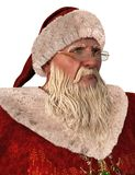 Santa Claus 3D Illustration Isolated On White. 3D Illustration Santa Claus isolated on white background Stock Image