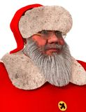Santa Claus 3D Illustration Isolated On White. 3D Illustration Santa Claus isolated on white background Royalty Free Stock Photos