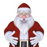Santa Claus 3d Royalty Free Stock Photo