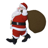 Santa Claus 3d Stock Images