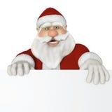 Santa Claus 3d sammanträde Royaltyfri Fotografi