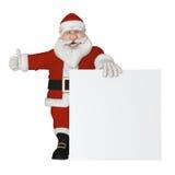 Santa Claus 3d sammanträde Fotografering för Bildbyråer