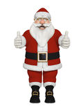 Santa Claus 3d sitting Royalty Free Stock Image