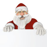 Santa Claus 3d sitting Royalty Free Stock Photography