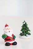 Santa Claus da decoração do Natal Fotografia de Stock