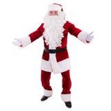Santa Claus dancing Royalty Free Stock Photo