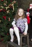 Santa Claus de attente. Image stock