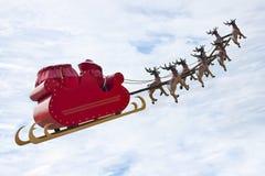 Santa Claus de despedida Fotos de archivo libres de regalías