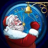 Santa Claus de sonnerie Images stock