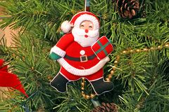 Santa Claus decoration Stock Photos