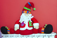 Santa Claus Decoration Stock Images