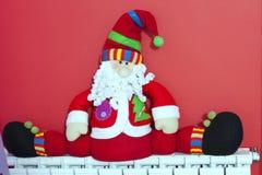 Santa Claus Decoration Stock Images