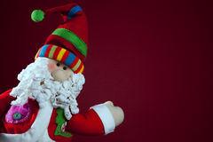 Santa Claus Decoration Stock Photo