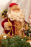 Santa Claus decoration figure Royalty Free Stock Images