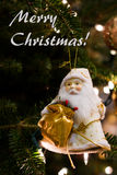 Santa Claus decorations Stock Image