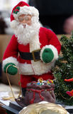 Santa Claus decorations christmas Royalty Free Stock Images