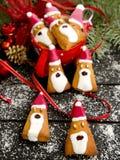 Santa Claus in deeg Stock Fotografie