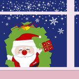 Santa claus design Stock Photography