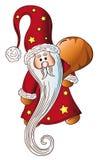 Santa claus, design element Royalty Free Stock Photos