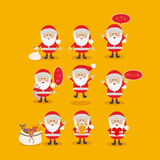 Santa claus design Stock Images