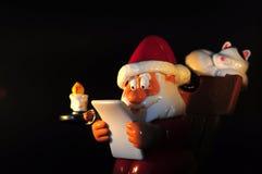 Santa Claus diagram Fotografering för Bildbyråer