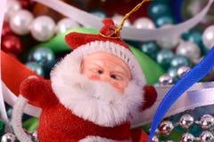 Santa claus with diamond, new year card Royalty Free Stock Photos