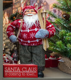 Santa Claus Display fotografia stock