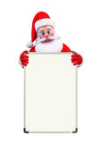 Santa Claus With display board Stock Image