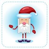 Santa Claus divertida. Imagen de archivo