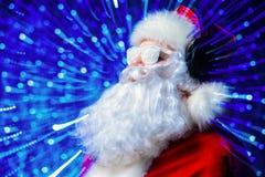santa Claus DJ Στοκ φωτογραφία με δικαίωμα ελεύθερης χρήσης