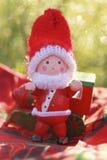 Santa claus doll Royalty Free Stock Photography