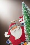 Santa Claus doll decoration Royalty Free Stock Photo