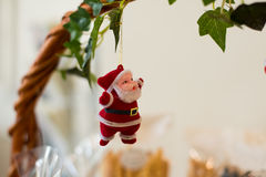 Santa claus doll. Royalty Free Stock Photography