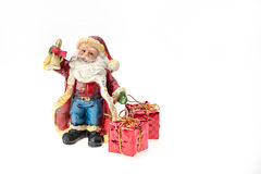 Santa Claus doll. Stock Photos