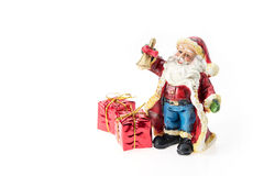 Santa Claus doll. Stock Image